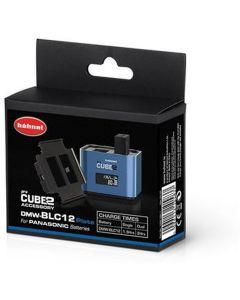 Hahnel ProCube2 accuplate for Panasonic DMW-BLC12 batteries