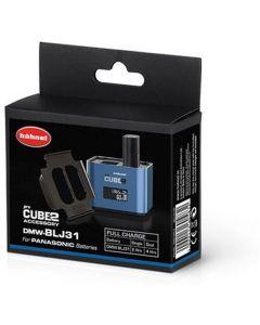 Hahnel ProCube2 accuplate for Panasonic DMW-BLJ31 batteries