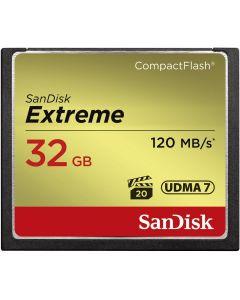 SanDisk CF Extreme 32GB 120MB/s 85MB write UDMA 7