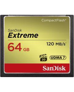 SanDisk CF Extreme 64GB 120MB/sec 85 MB write UDMA 7