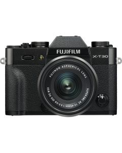 Fujifilm X-T30 Black + XC15-45mm Kit EE