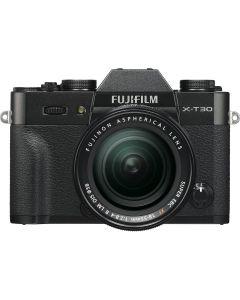 Fujifilm X-T30 Black + XF18-55mm Kit EE