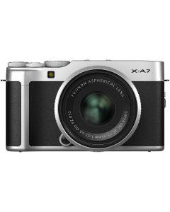 Fujifilm X-A7 Silver / XC15-45mm F3.5-5.6 OIS PZ Silver