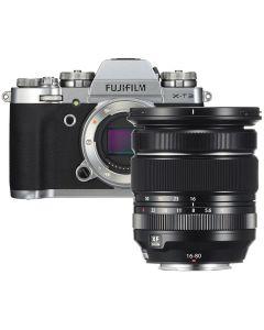 Fujifilm X-T3  Zilver / XF16-80mm F4 R OIS WR Kit