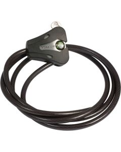 Bushnell Cable lock, black, adjustable