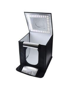 Caruba Portable Fotostudio LED Dimbaar 50x50x50cm