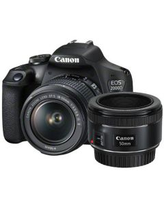 Canon EOS 2000D 18-55 IS + 50 1.8S