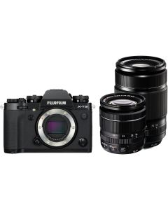 Fujifilm X-T3 Black + XF18-55mm + XF55-200mm