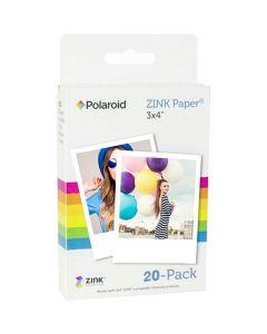 Polaroid Zink Papier 3.5x4.25 inch 20 sheets