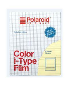 Polaroid Originals Color instant film for I-type Note edit.