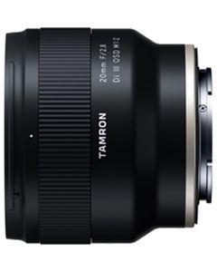 Tamron SP AF 20mm F/2.8 DI III OSD 1/2 Macro Sony