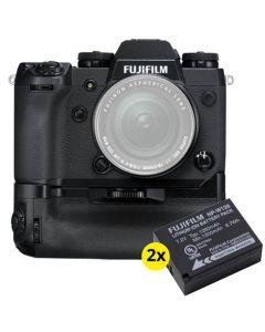Fujifilm X-H1 + VPB-XH1 Handgrip + 2 x NP-W126S