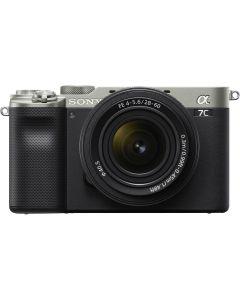 Sony A7C Silver + SEL 28-60mm F4-5.6