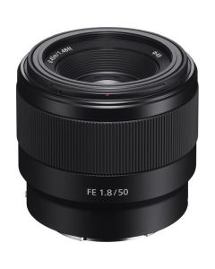 Sony SEL 50mm F1.8 FF E-mount lens Full Frame
