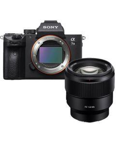 Sony A7 III + FE 85mm f1.8