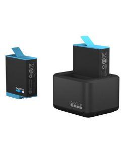 GoPro Dual Battery Charger + Battery voor Hero 9 Black