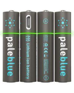 Pale Blue Li-Ion Rechargeabl AAA Battery
