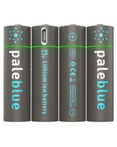 Pale Blue Li-Ion Rechargeable AA Battery