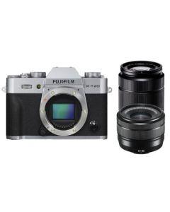 Fujifilm X-T20 Silver / XC15-45mm / XC50-230mm II EE